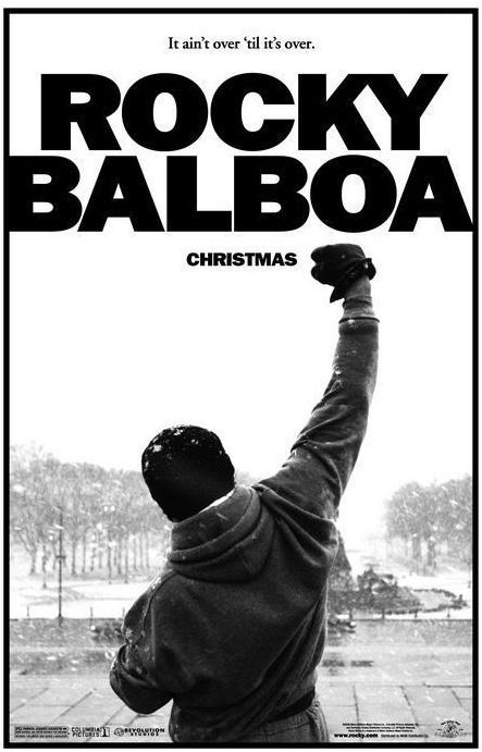 Mítico poster de la película de Rocky Balboa