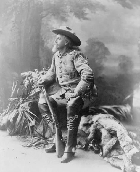 Buffalo Bill Cody.