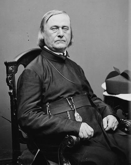 El padre De Smet.