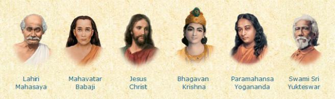 yogananda_gurus