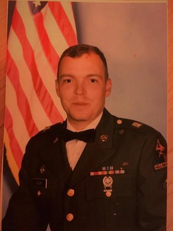 Durante 18 años Jamie sirvió en el Ejército de EEUU