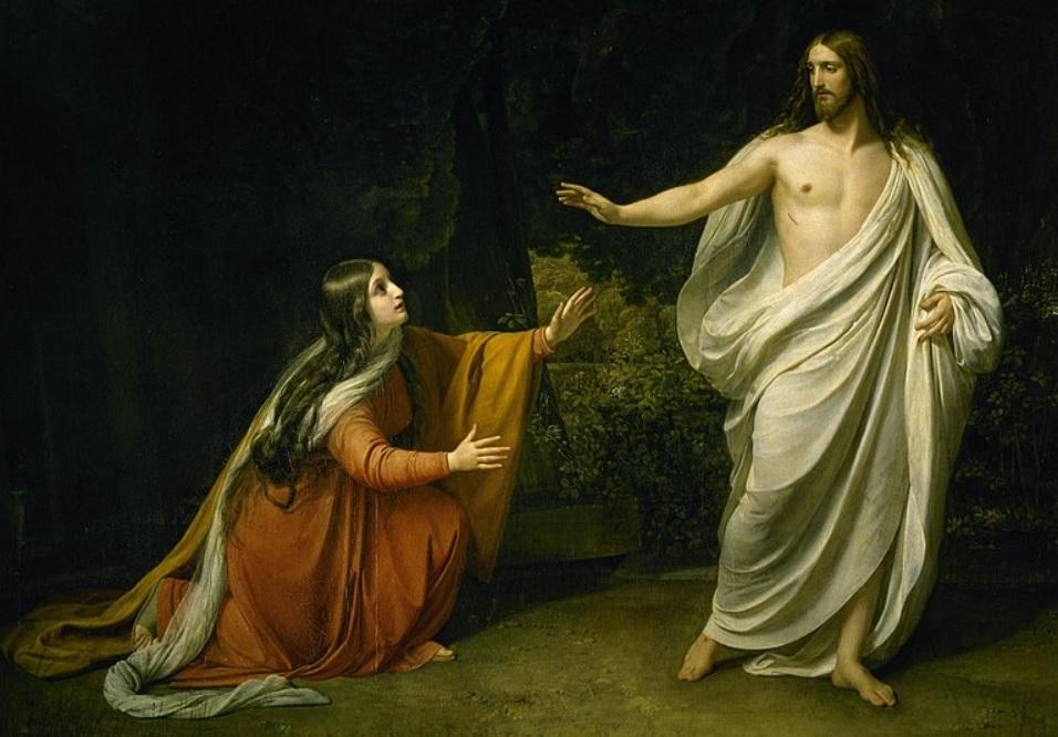 Jesús y la Magdalena vista por Ivanov