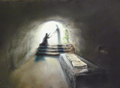 Una imagen de la Tumba Vacía de Cristo