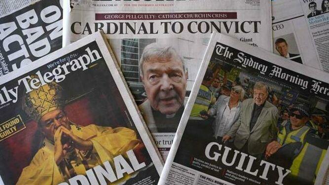 La prensa machacó al cardenal Pell, la justicia le liberó y ahora la prensa es la llevada a juicio