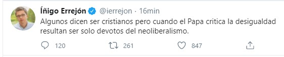 errejon_papa_francisco