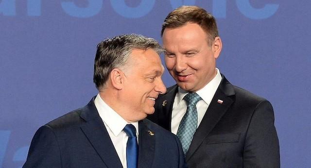 Viktor Orban y Andrzej Duda.