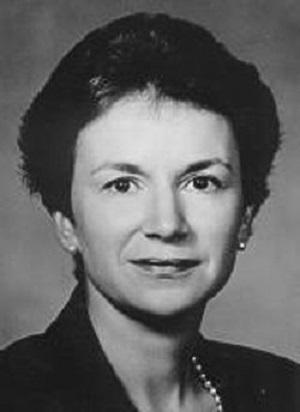 La doctora Beverly McMillan hace años