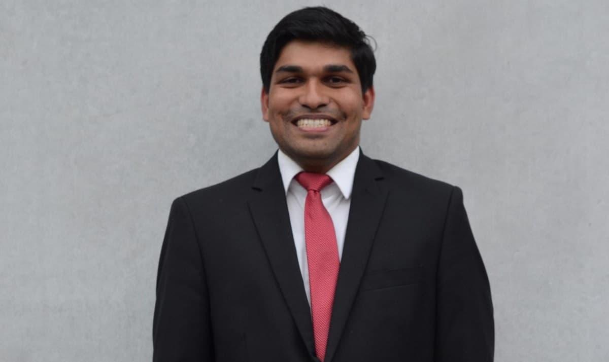 Midhun Dominic, seminarista indio