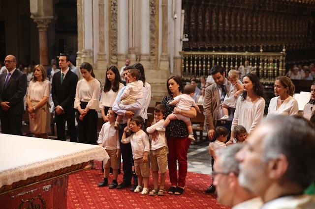 La familia Gracia Moyano en su envío misionero