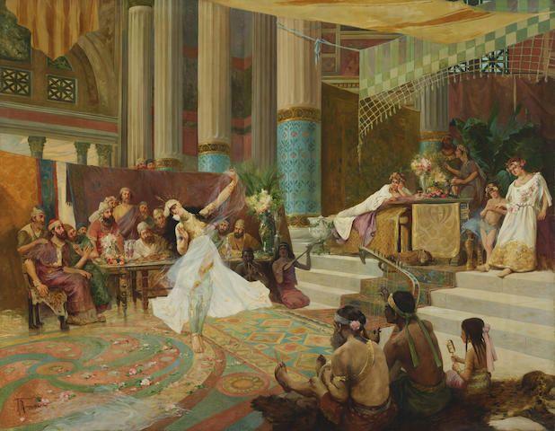 Cuadro de la danza de Salomé.