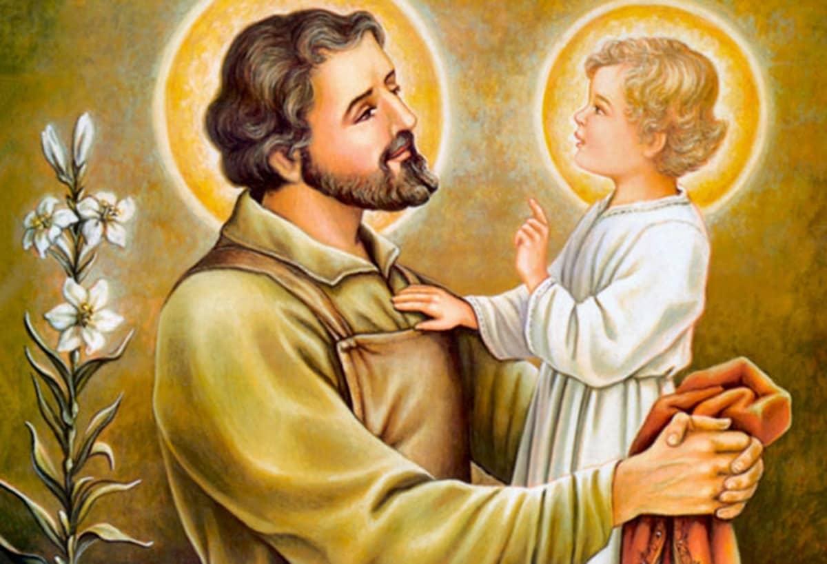 San José cuidó de Jesús en su infancia