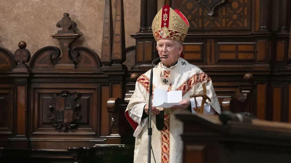 Cardenal Cañizares en misa