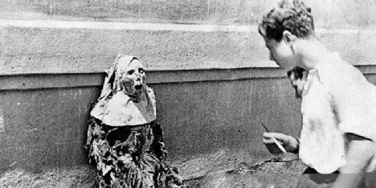 Profanación del cadáver de una monja.