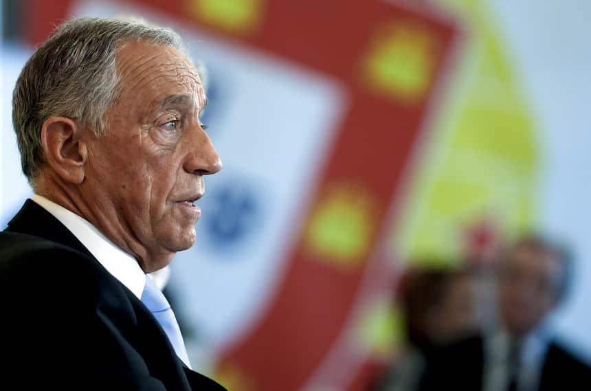 Marcelo Rebelo de Sousa, presidente portugués - foto de Tiago Petinga / Lusa