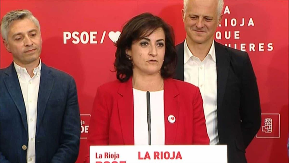 Concepción Andreu, presidente de La Rioja