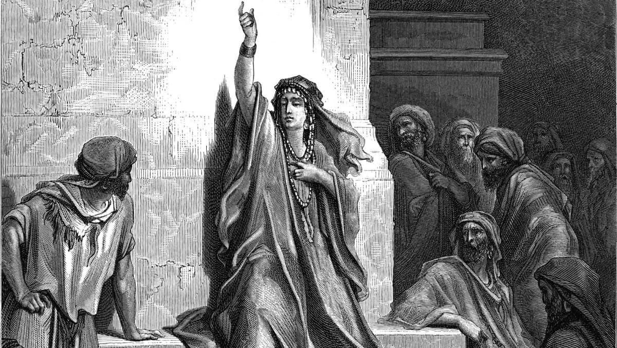 Débora es una de las mujeres más importantes de la Biblia