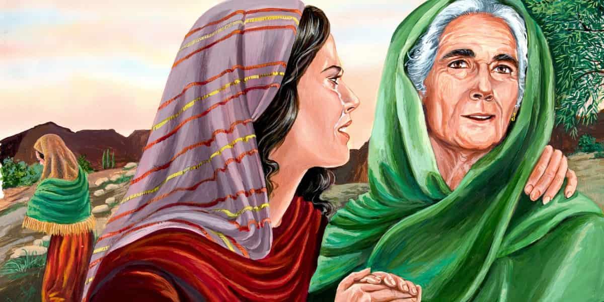 La de Rut y Noemí es una bella historia de lealtad y recompensa