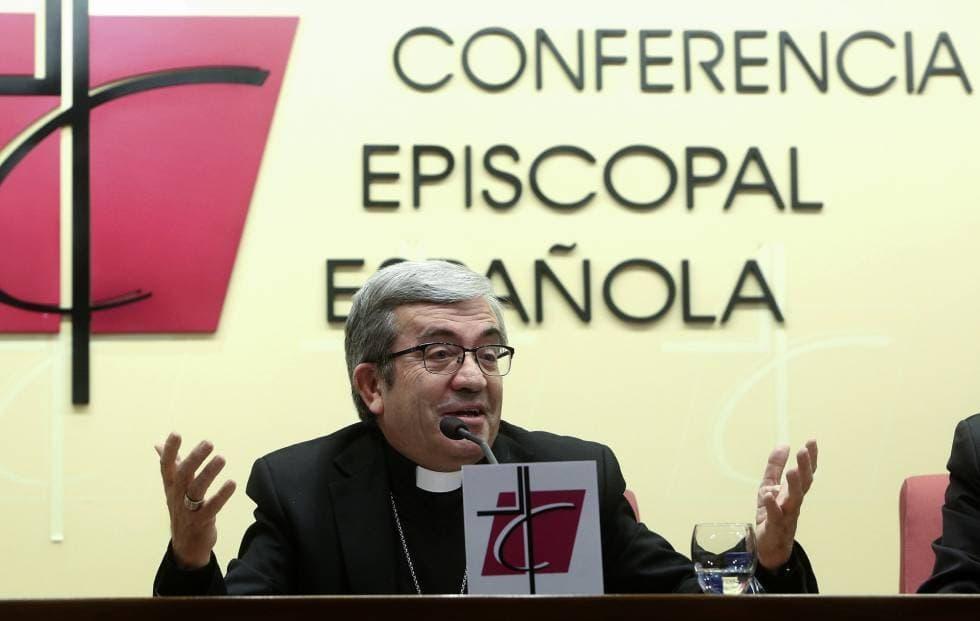 Luis Argüello, secretario general de la Conferencia Episcopal Española