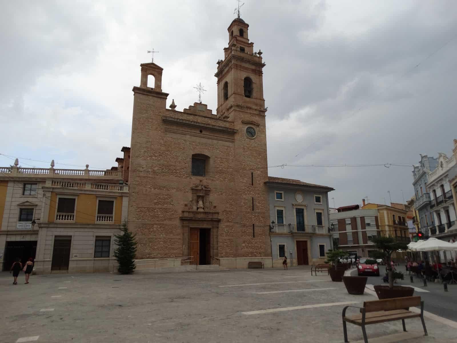 Iglesia de la Virgen de los Ángeles en Silla, Valencia