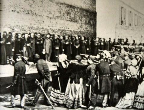 Masacre de la Comuna de París.