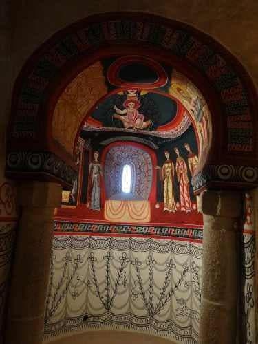 Pinturas de Sant Quirze del Pedret
