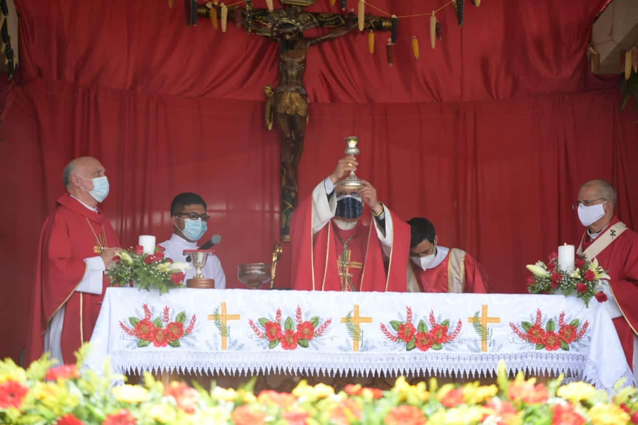 Misa de beatificación de los Mártires del Quiché