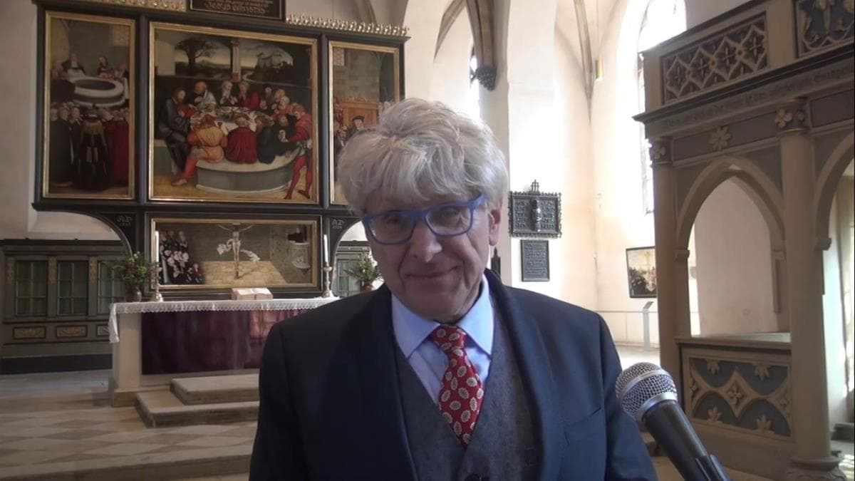 Alexander Garth en Wittenberg.