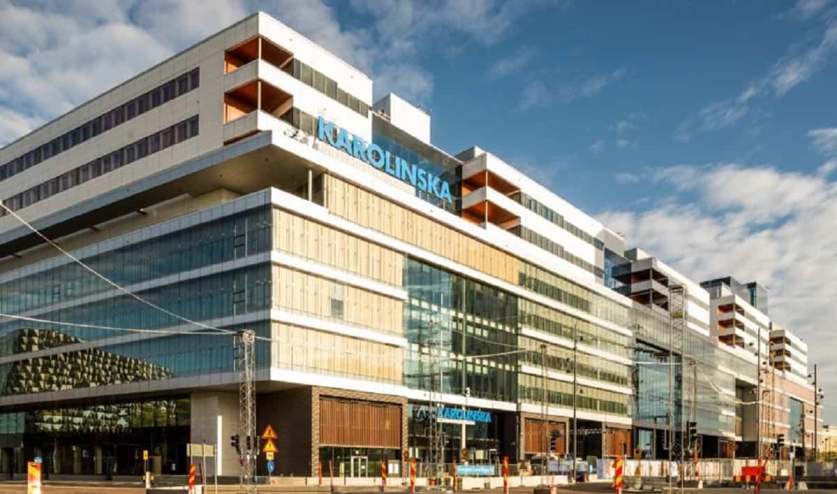 El hospital Karolinska de Suecia es una referencia a nivel mundial