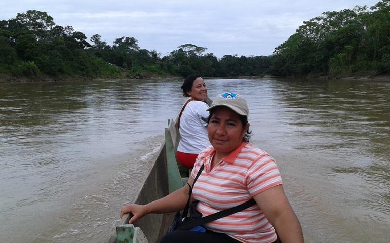 Catequistas en la selva de Puyo (Ecuador)