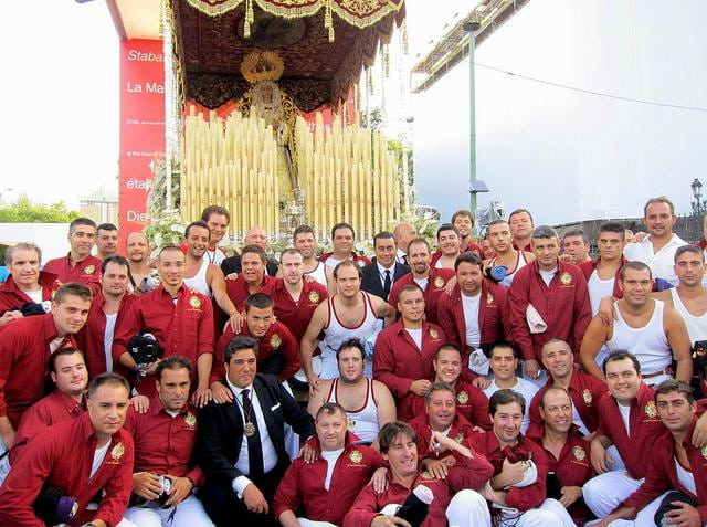 Virgen de Regla de Sevilla, en la JMJ 2011 de Madrid