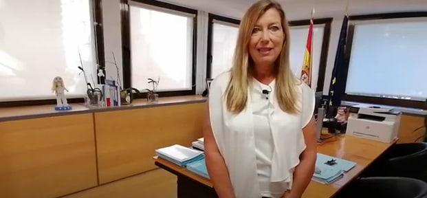 Patricia Gomez Picard, enfermera, consellera de salud de Baleares, encarga las eutanasias