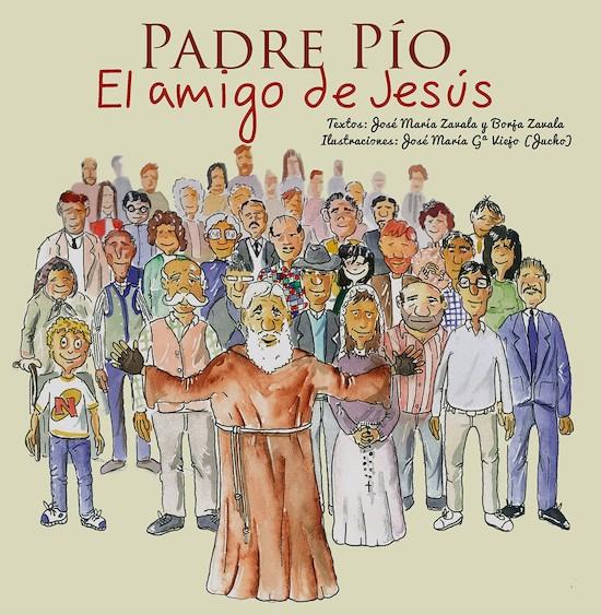 Portada del libro sobre el Padre Pío.