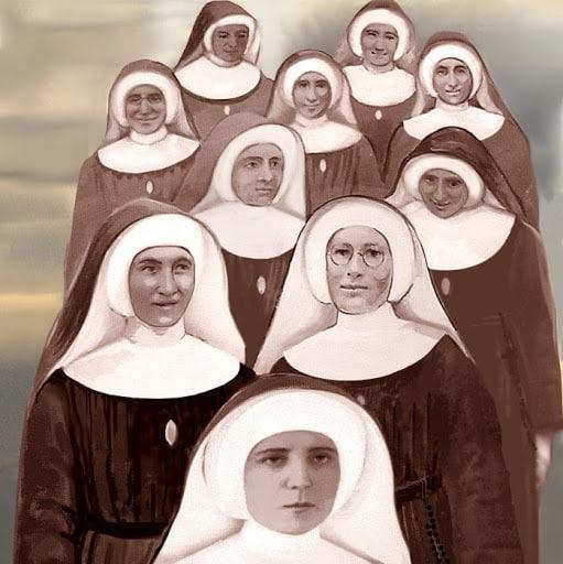 Las mártires isabelinas de Polonia en Silesia en 1945