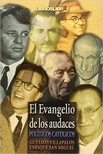 """Portada de """"El Evangelio de los audaces""""."""