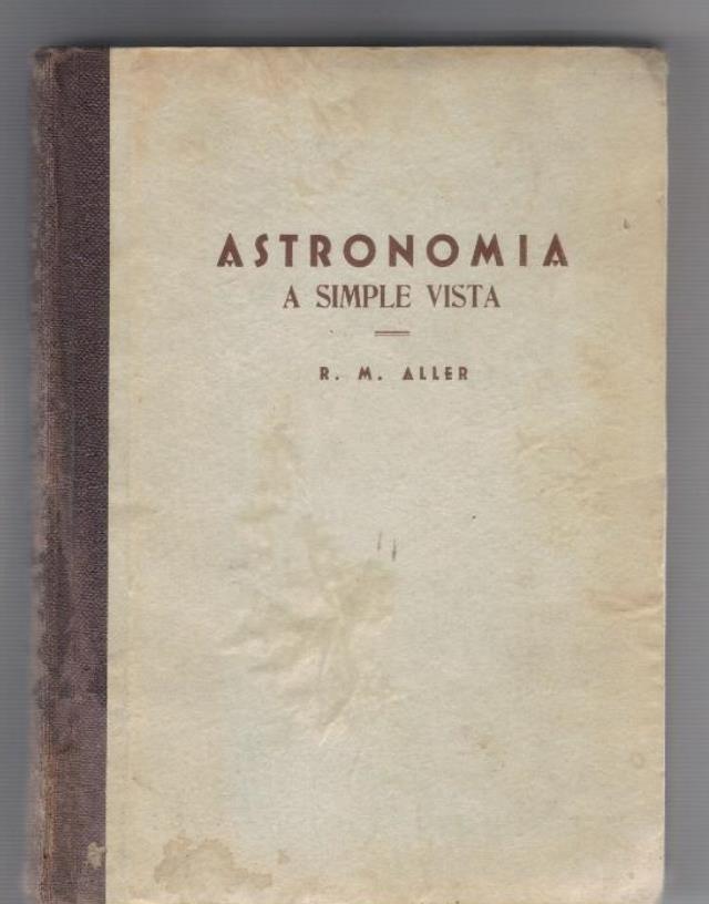 Astronomía a simple vista.