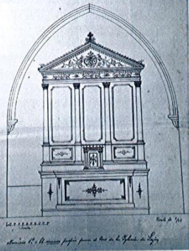Retablo neoclásico de Lajas.