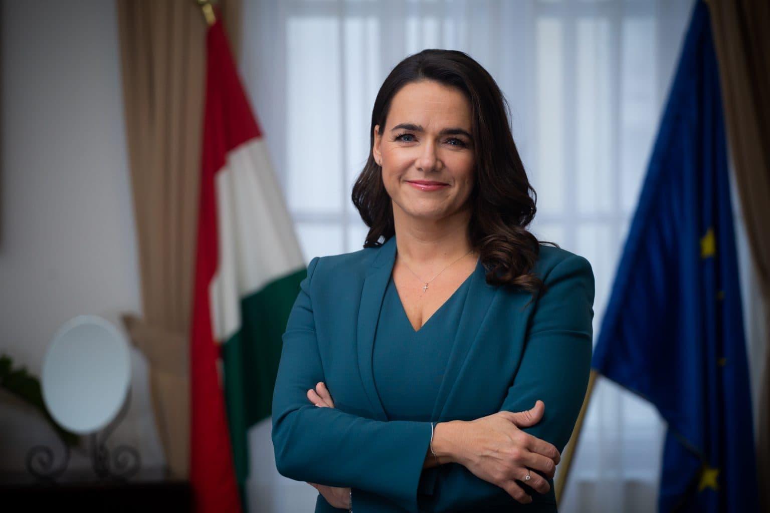 Katalin Novak es la ministra de Familia de Hungría
