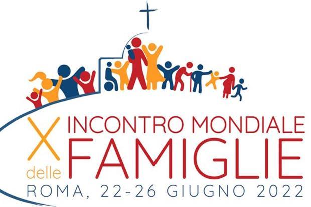 Logo encuentro mundial de las familias 2022