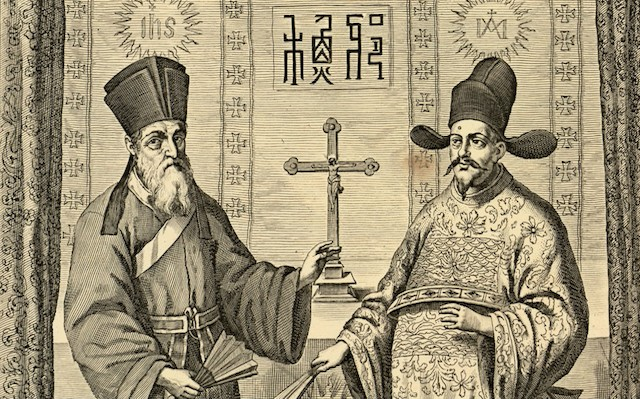 Matteo Ricci y Diego Pantoja.