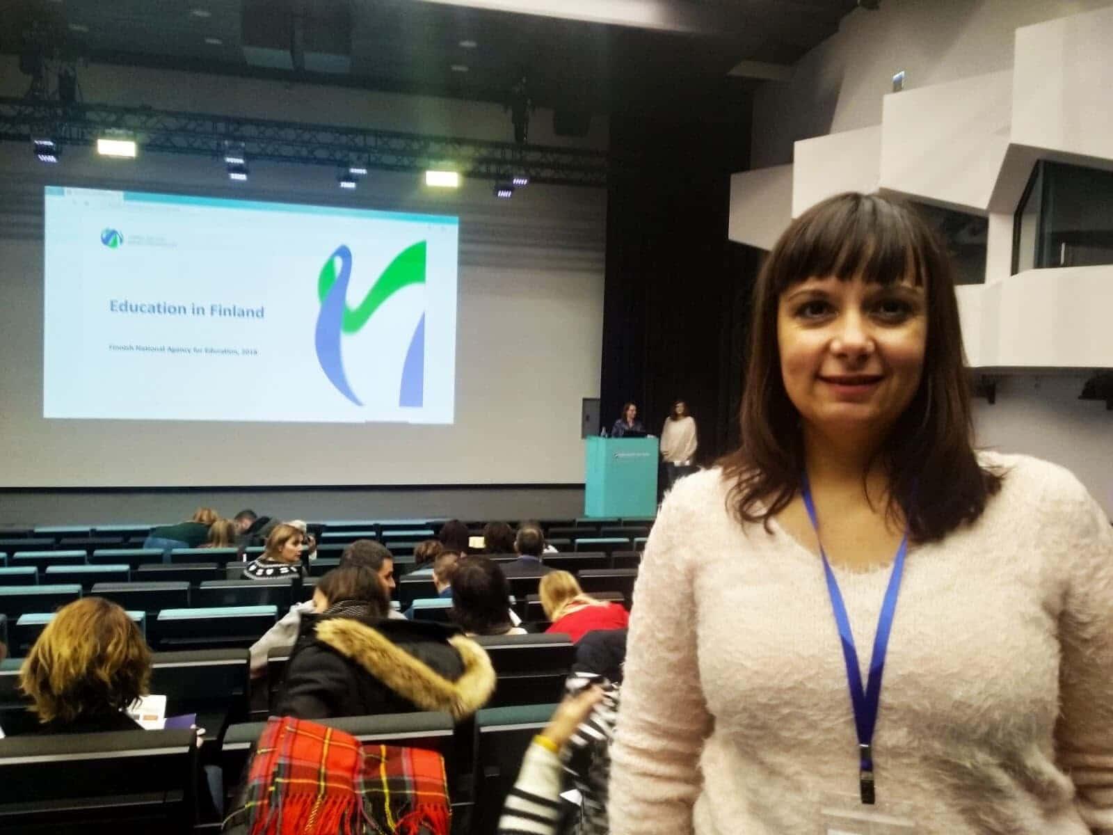 Ilenia Megías, la directora del IES Complutense que ha iniciado el proceso contra un profesor