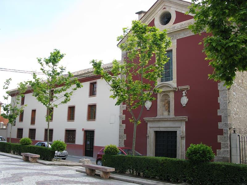 Carmelo masculino e iglesia del Carmen en Caravaca de la Cruz