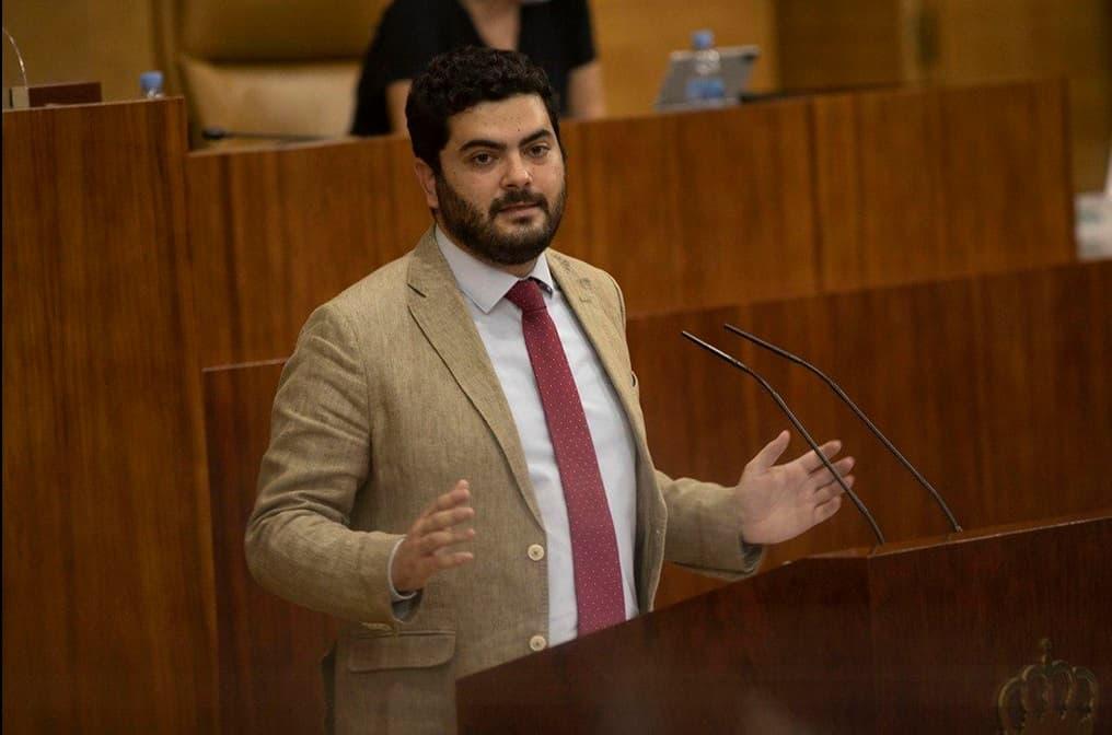 Javier Pérez, diputado de Vox