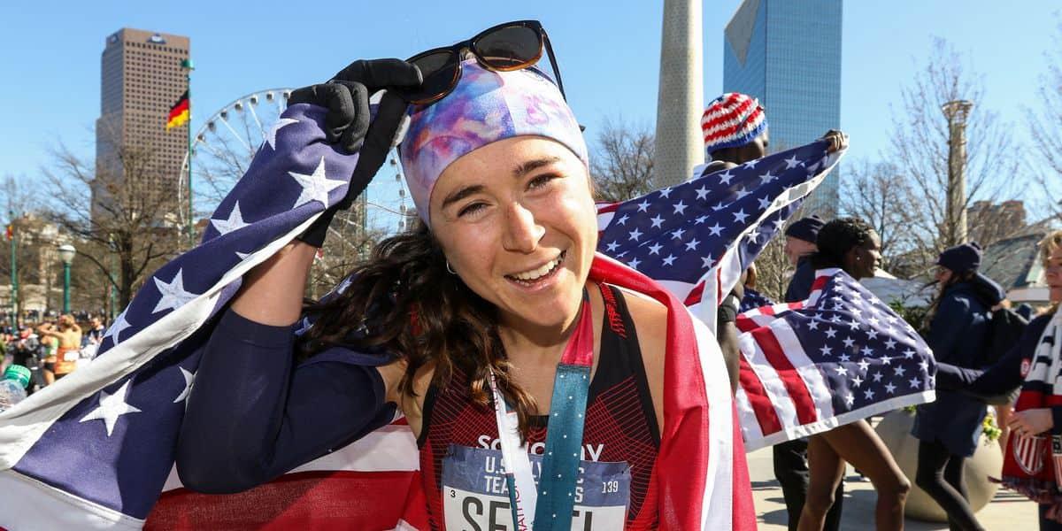 Molly Seidel es una gran corredora norteamericana que habla de su fe católica