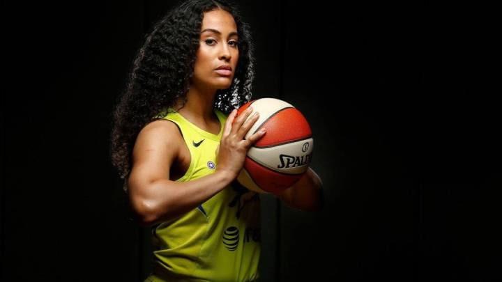 Skylar Diggins-Smith, baloncestista formada en la Universidad católica de Notre-Dame, Indiana