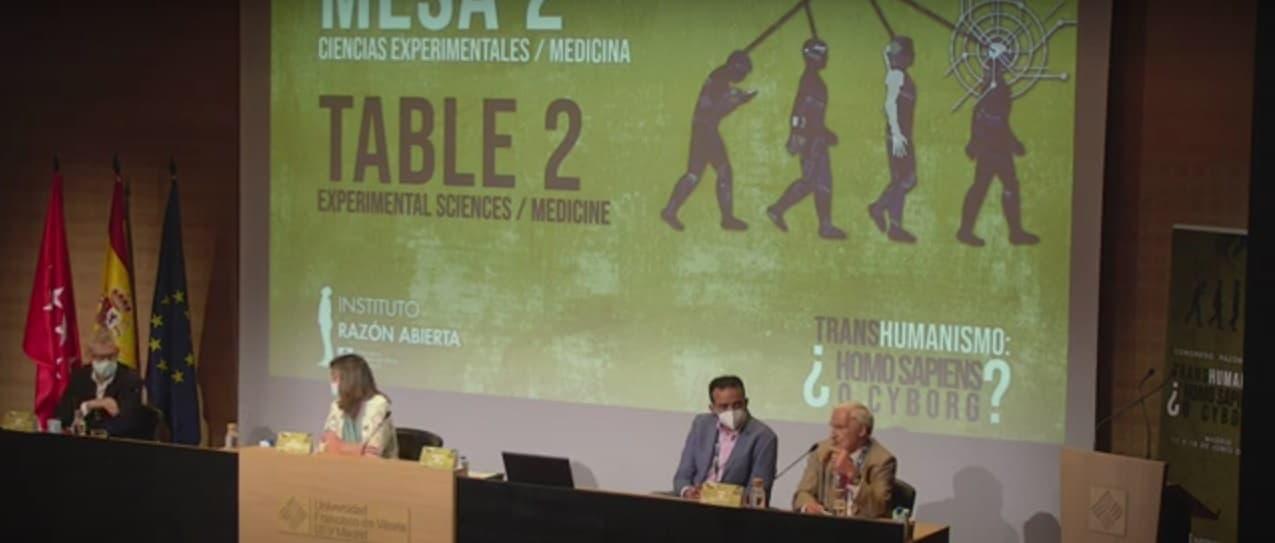 Mesa Redonda sobre transhumanismo y biotecnología en la Universidad Francisco de Vitoria