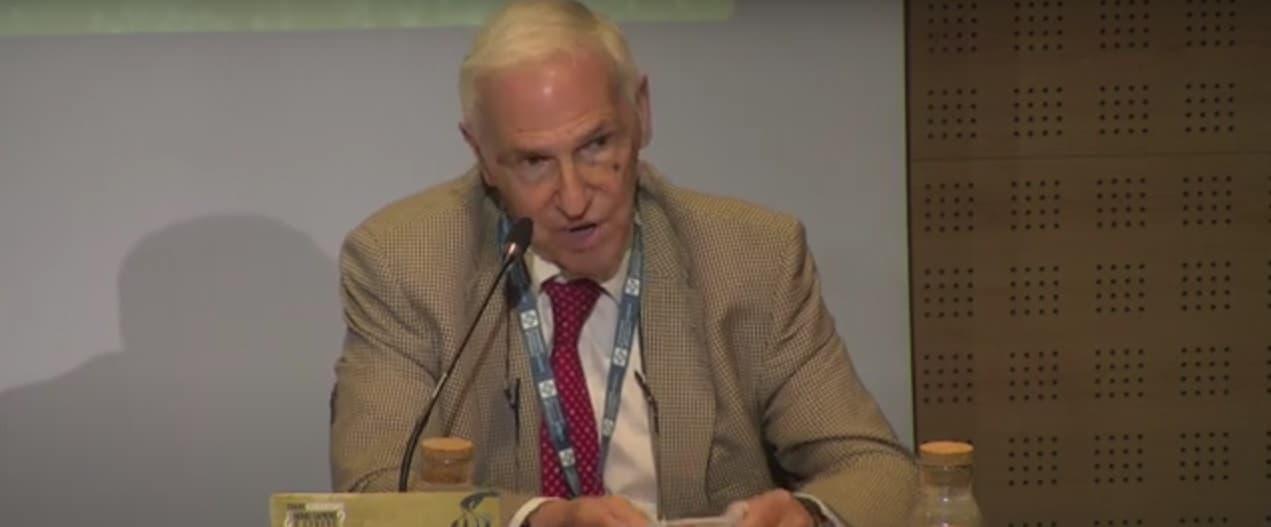 Nicolás Jouve, experto en genética y bioética