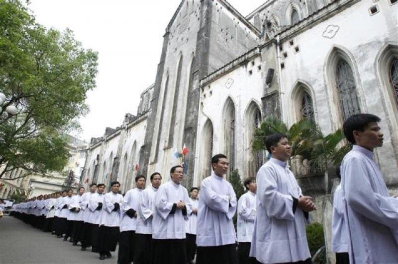 Seminaristas de Vietnam