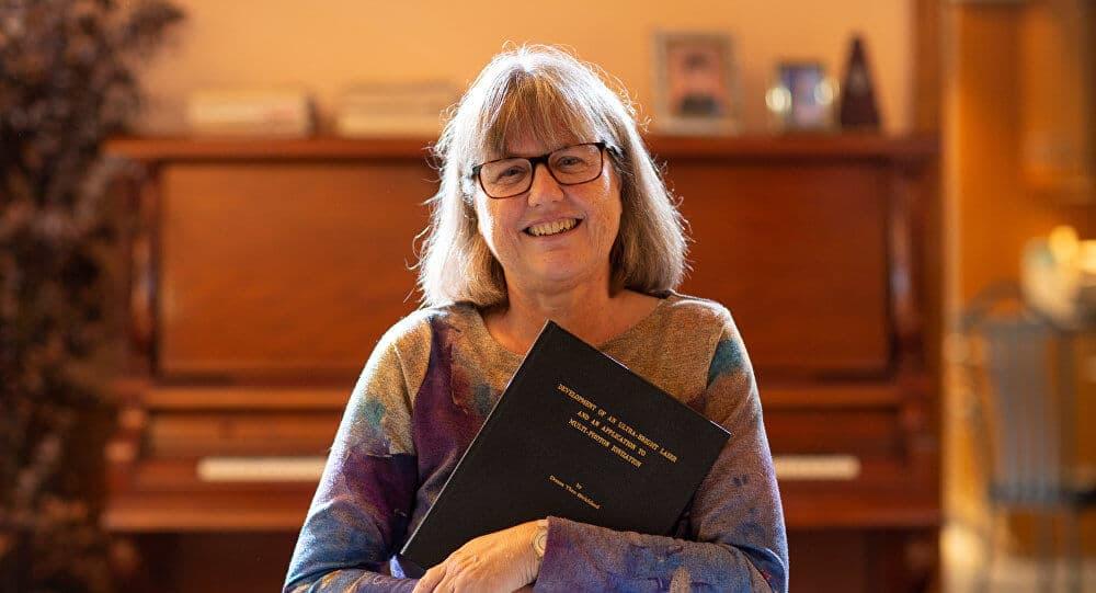 Donna Strickland, Premio Nobel de Física 2018