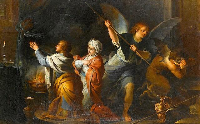 El matrimonio de Tobías y Sara de Charles-Andre van Loo.