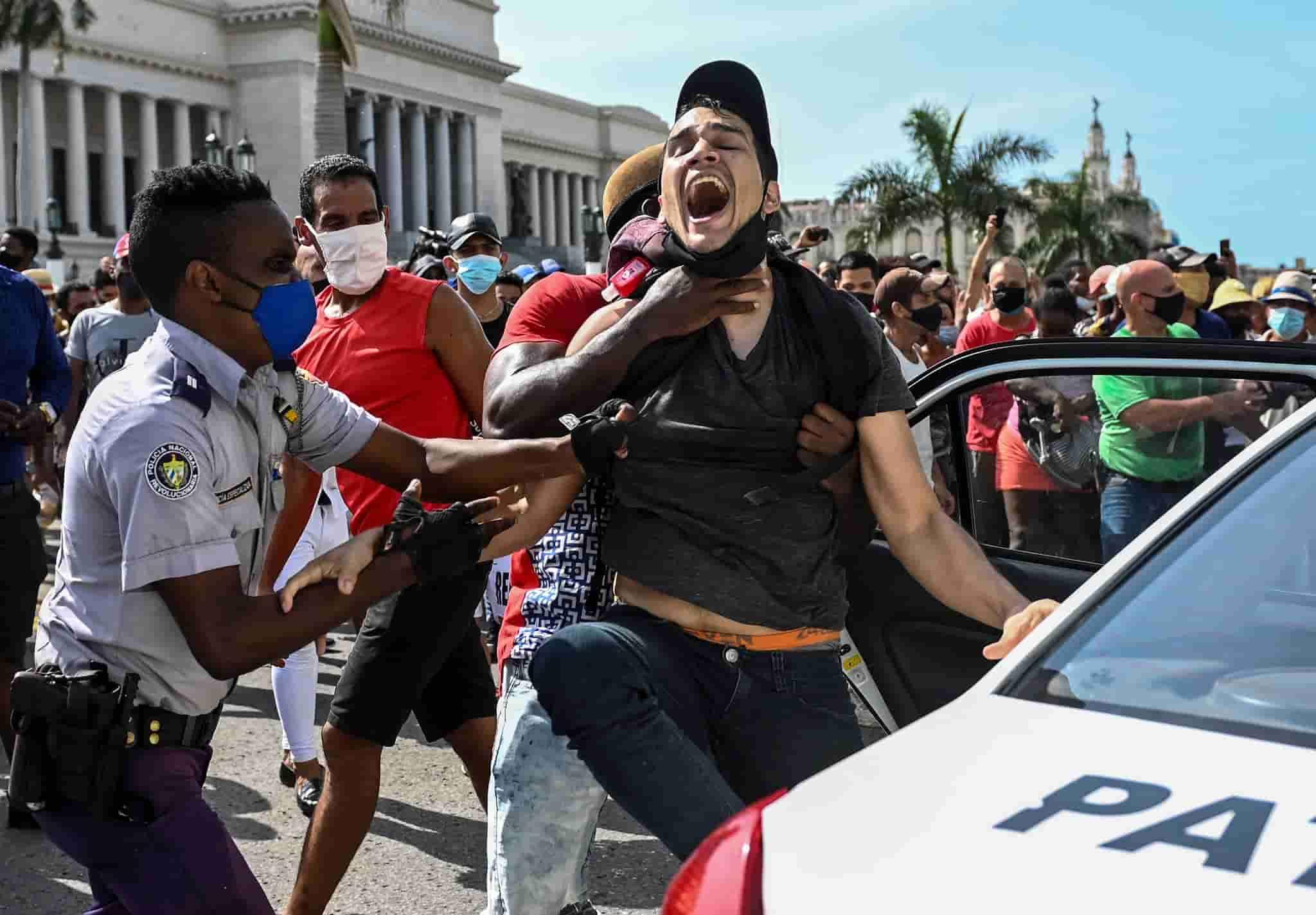 No se sabe exactamente cuantas personas han sido detenidas por manifestarse en julio en Cuba